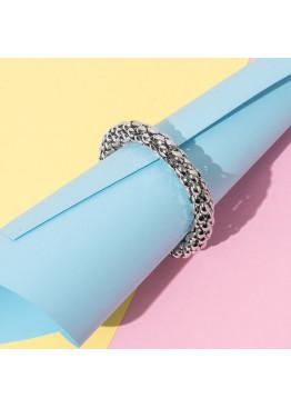Стильный эластичный браслет с оригинальным плетением