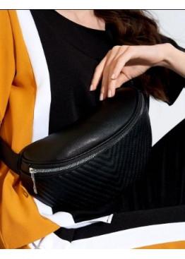 Стёганная сумка-кошелёк на пояс