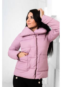 Демисезонная куртка с накладными карманами