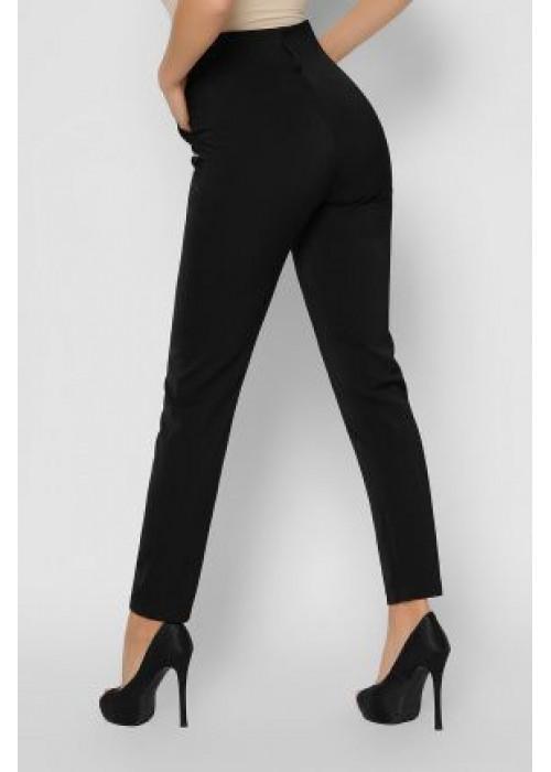 Стильные костюмные брюки с поясом