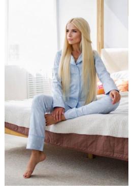 """Пижама с принтом """"голубая полоска со звездами"""""""