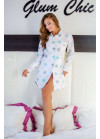 """Пижама-рубашка с принтом """"звезда"""""""