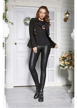 Оригинальный пиджак в стиле Balmain, чёрный