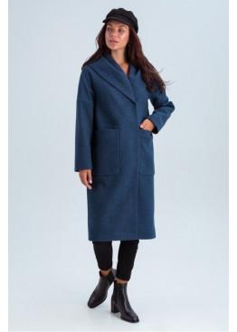 Пальто с капюшоном и накладными карманами «Лаура»
