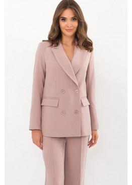 Классический пиджак прямого кроя Элейн, светло-лиловый