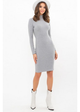 Платье-гольф короткое Алена2, серый