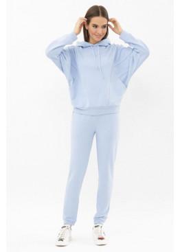 Трикотажный спортивный костюм Эдда голубой
