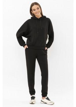 Трикотажный спортивный костюм Эдда черный