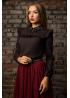 Элегантная блуза из тонкого,эластичного,шелковистого шифона