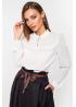 Блуза из стрейчевого шифона и сетки