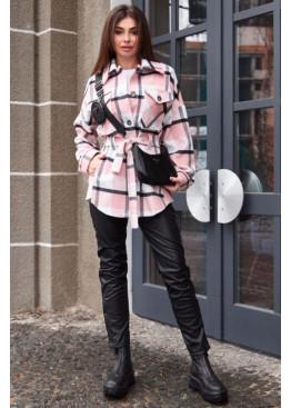 Пальто-рубашка Нетти розовый