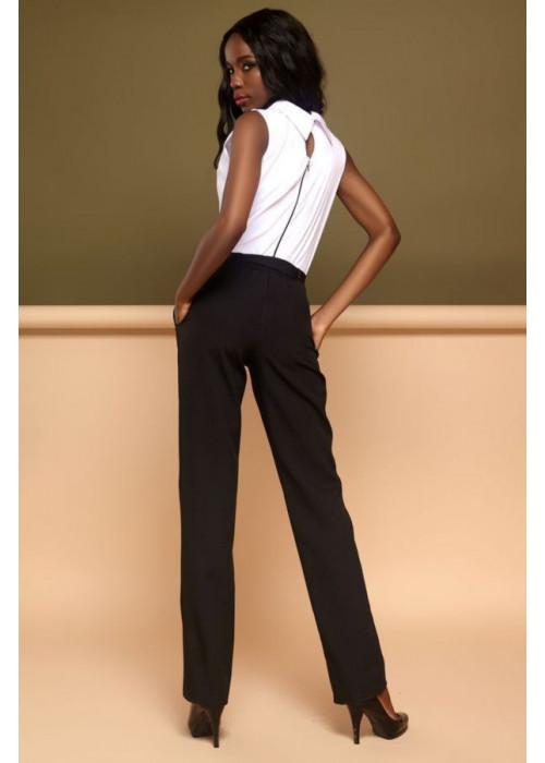 Эффектный комбинезон, выполнен в виде блузы и брюк