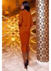 Костюм-двойка: оригинальная блуза с юбкой-карандаш