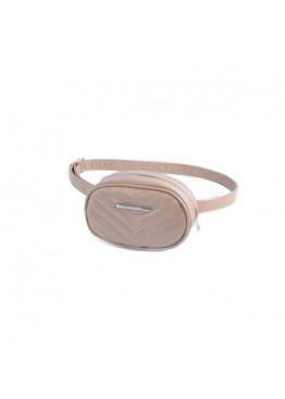 Женская сумка на пояс М217-31 кофе