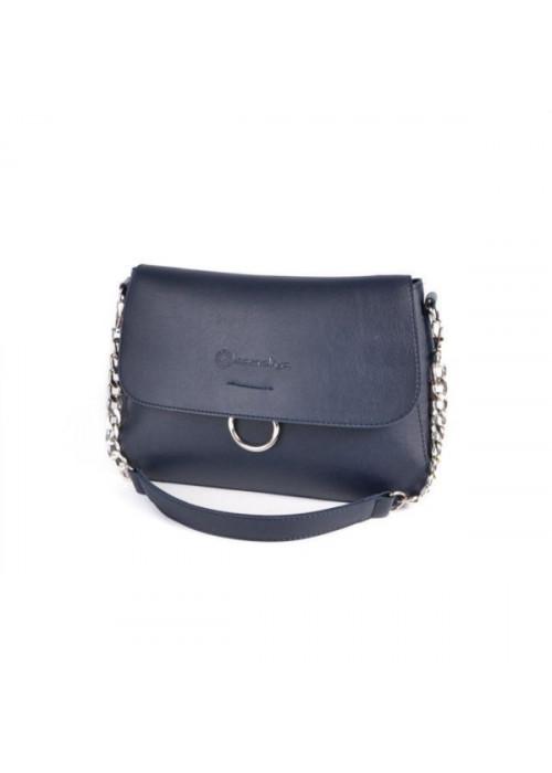 Женская мини-сумочка, синяя