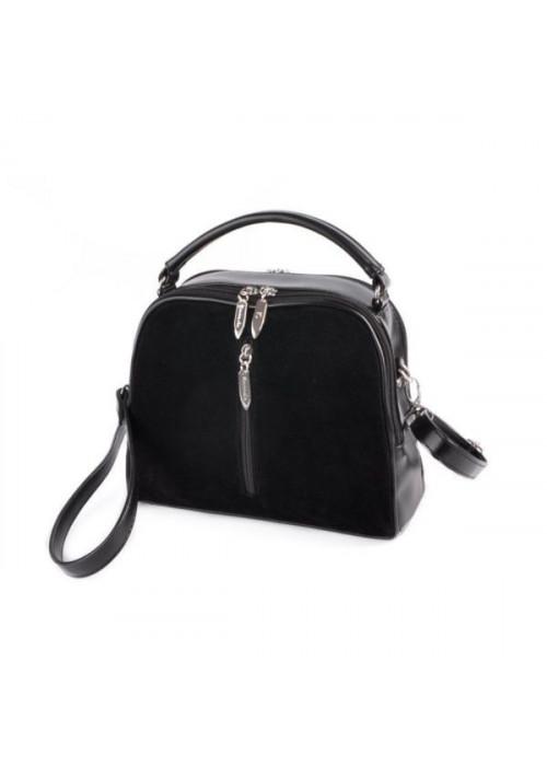 Женская сумочка через плечо, черная