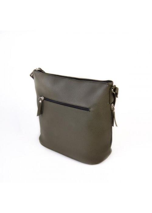 Классическая сумка через плечо, хаки