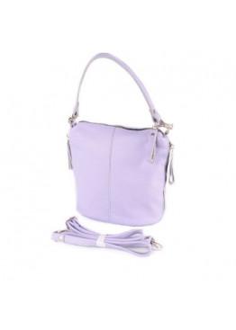 Женская кожаная сумка через плечо М246 purple
