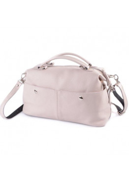 Женская сумка из натуральной кожи М252 beige
