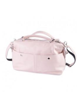 Женская сумка из натуральной кожи М252 pink