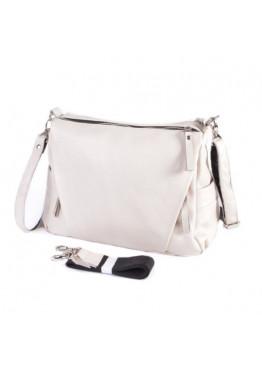 Женская кожаная сумка М274 beige