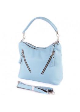 Женская кожаная сумка М280 bright blue