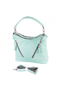 Женская кожаная сумка М280 green