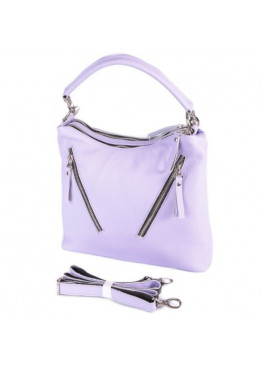 Женская кожаная сумка М280 purple