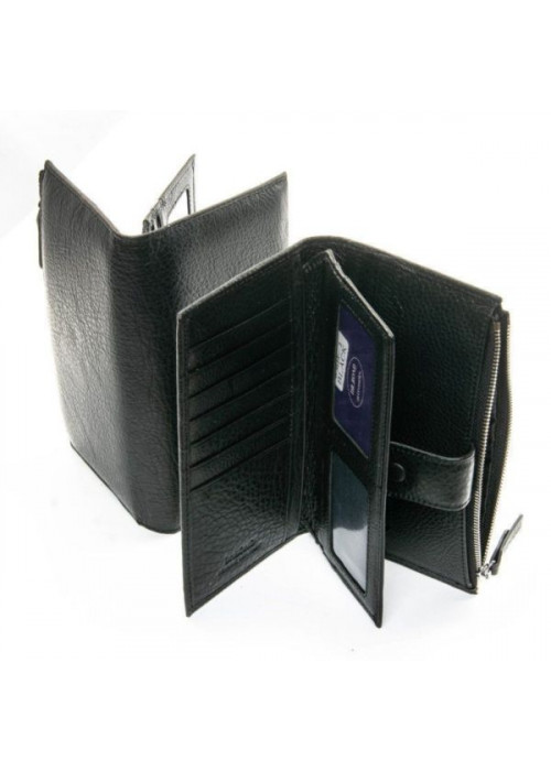 Кожаный кошелек DR. BOND
