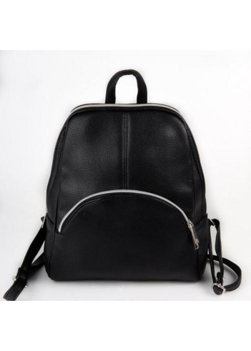 Женский чёрный рюкзак