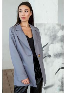 Пиджак свободного кроя Амелия, Серый