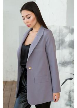 Пиджак свободного кроя Сицилия, Серый