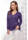 Джемпер фиолетовый с люрексовой нитью