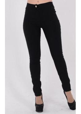 Трендовые джинсы с молнией сзади