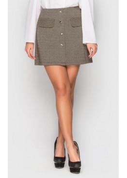 Стильная юбка из джерси