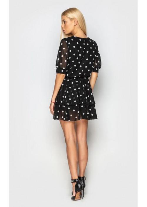 Легкое летнее платье из воздушного шифона