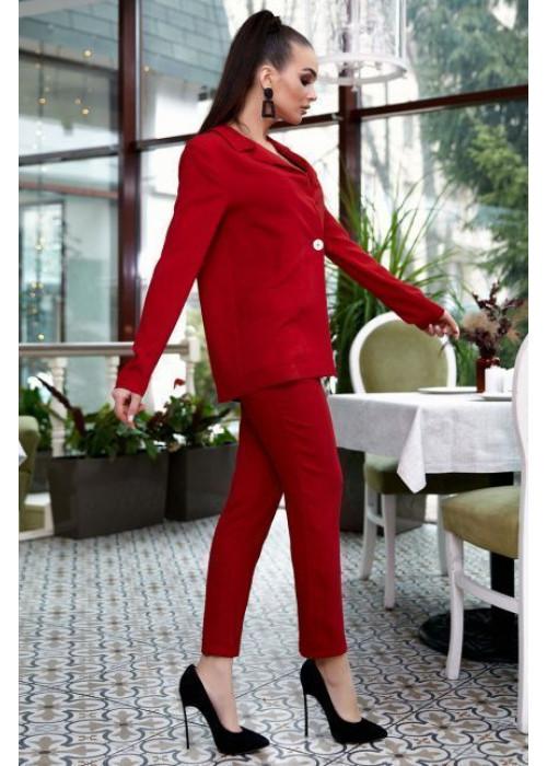 Костюм из американского крепа: жакет+брюки