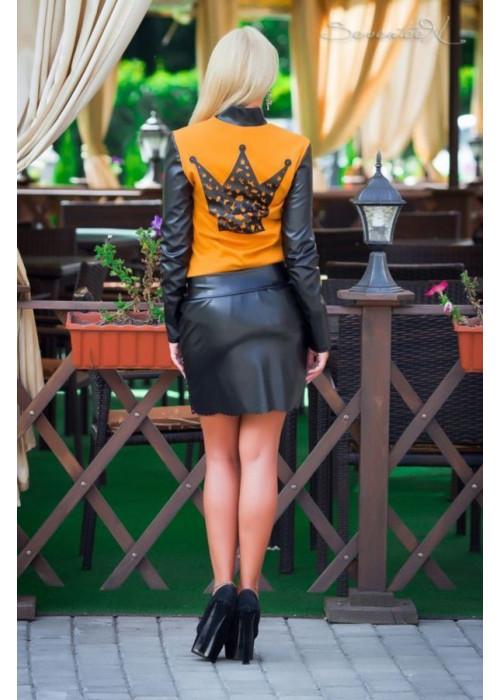 Стильная юбка с нежным узором