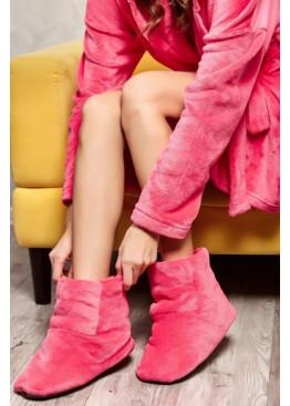 Домашние угги, розовые