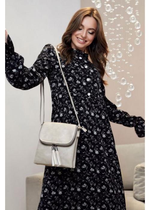 Элегантное и неподражаемое платье в романтическом стиле длиной миди